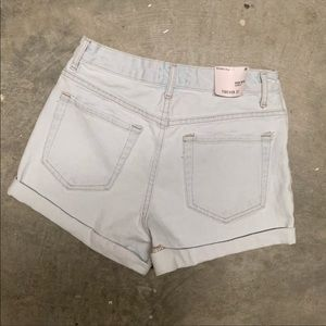 Forever 21 high rise shorts NWT